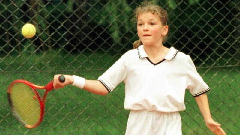Agnieszka Radwańska w 2000 roku