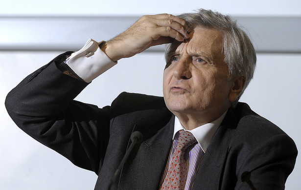 Jean-Claude Trichet prezes EBC. Fot. Bloomberg