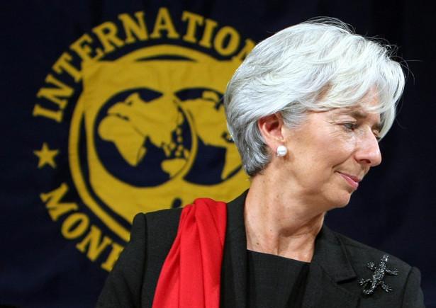Christine Lagarde, dyrektor wykonawczy Międzynarodowego Funduszu Walutowego.