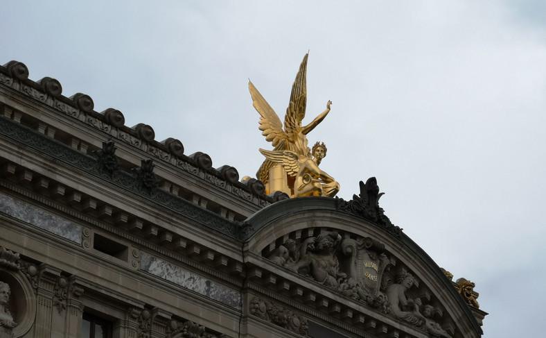 Opera w Paryżu, maksymalne powiększenie P20 Pro
