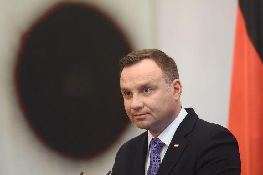 Andrzej Duda, prezydent RP.