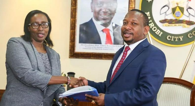 Governor Mike Sonko is so paranoid he feared he would be poisoned at State House - Beatrice Elachi