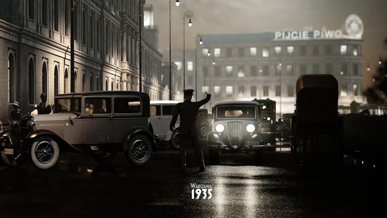 """""""Warszawa 1935"""" pokazuje w 3D, jak wyglądała przed II wojną stolica Polski"""