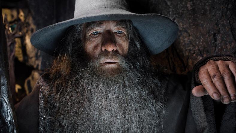 """Ian McKellen zagrał Gandalfa w trylogii """"Władca Pierścieni"""""""