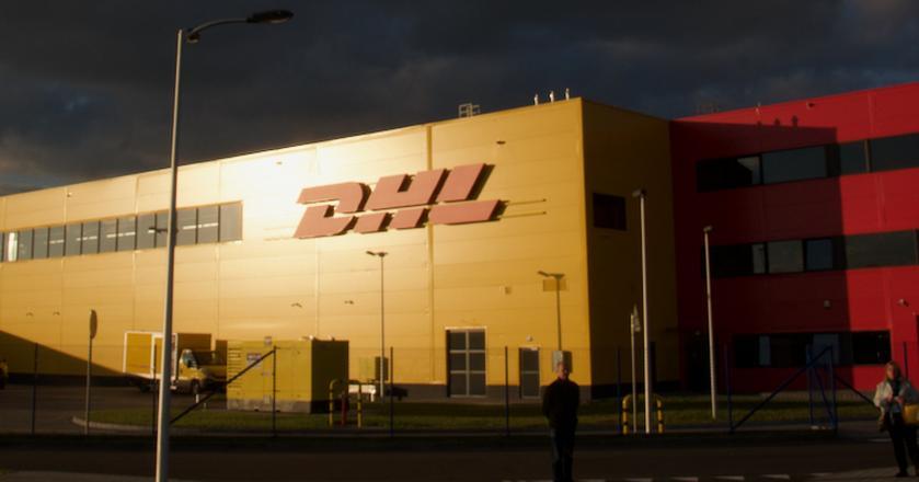 DHL - terminal kurierski przy Lotnisku Chopina w Warszawie