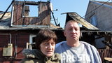 Syn ocalił mnie z pożaru!
