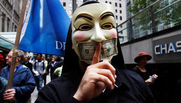 The Occupy Wall Street protest kicked off on September 17, 2011, in Lower Manhattan's Zuccotti Park.