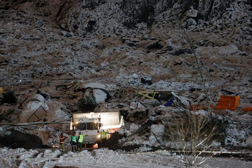 Landslide in Gjerdrum