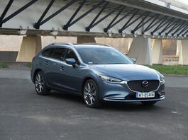 Mazda 6 Kombi SKYACTIV-G 2.5 – samochód nie dla księgowych