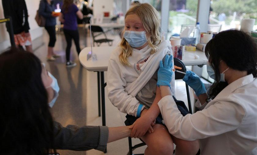 W USA szczepią już dzieci!