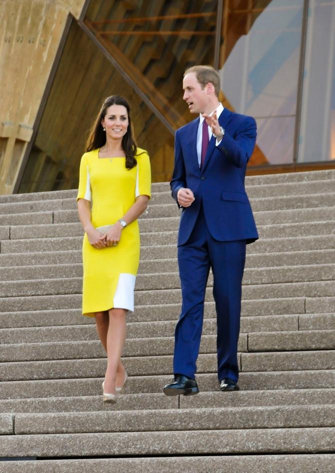 Kejt sa suprugom princom Vilijamom u Australiji