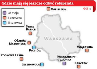 Lokalne referenda z finansowym znakiem zapytania w tle