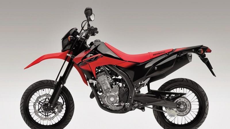 Honda CRF250M - na zdjęciach