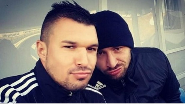 Valeri Božinov i Ivan Bandalovski selfi