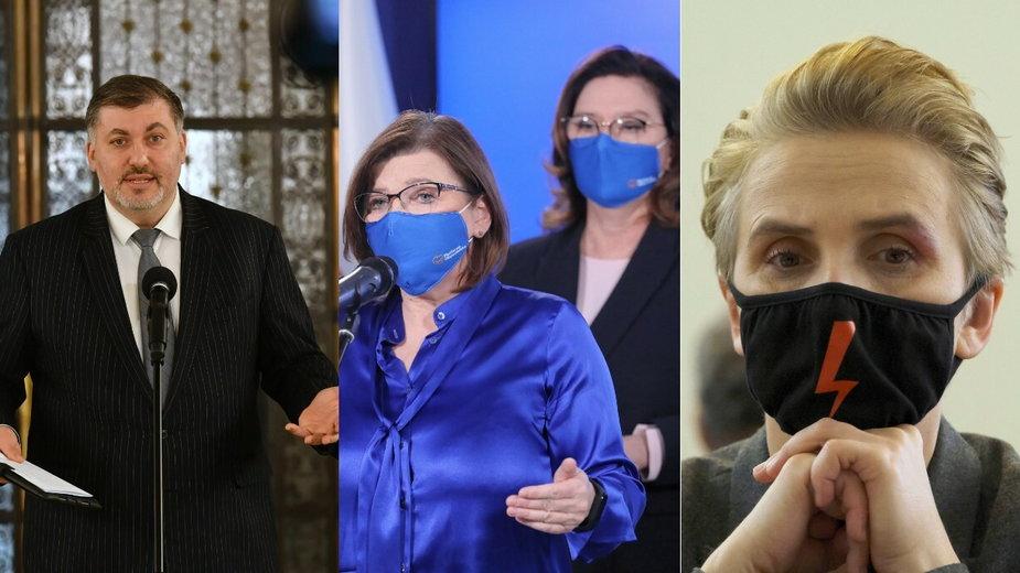 Co polskie partie sądzą o aborcji?