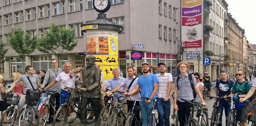 Rowerzyści mają problem w jeździe po centrum miasta