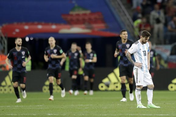 Hrvati ponizili Argentince: Mesi i drugari na pragu eliminacije