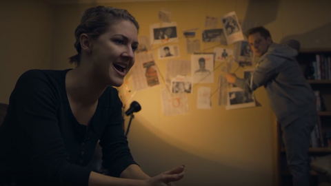 """Kadr z """"filmu"""" o okropnościach 2016 roku"""