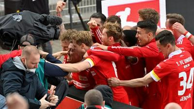 Kruse fires Union into Europa Conference play-offs... after rubbishing it