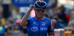 Ben O'Connor wygrał 17. etap Giro d'Italia. Problemy zdrowotne Rafała Majki
