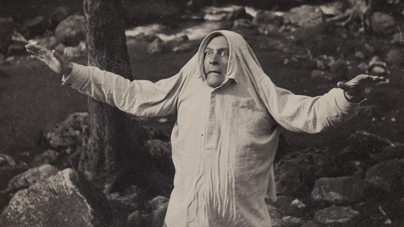 """Stanisław Ignacy Witkiewicz - """"Duch"""", fot. Józef Głogowski, początek lat 30. XX w."""