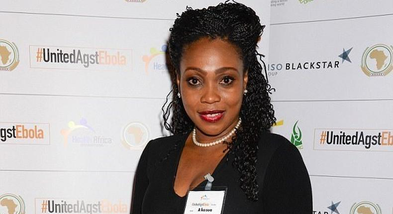 Akosua Puni Essie paid £206,000 (Sh26 million) at an auction for the cash strapped club.