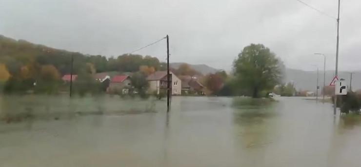 Nikšić poplava