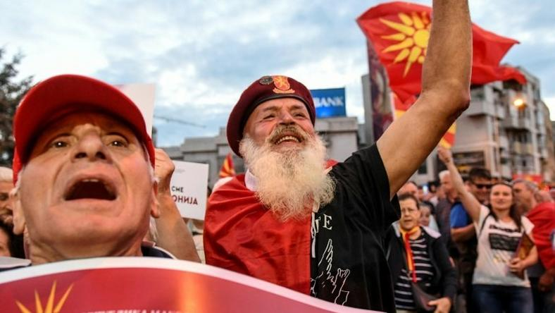 The proposed change would rename the country the Republic of North Macedonia
