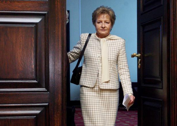 """Marcinkiewicz: Gilowska była """"Żelazną Damą"""" polskich finansów i polityki"""