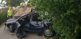 Straszna śmierć w Gdyni. Auto z kierowcą stoczyło się z Kamiennej Góry na bulwar