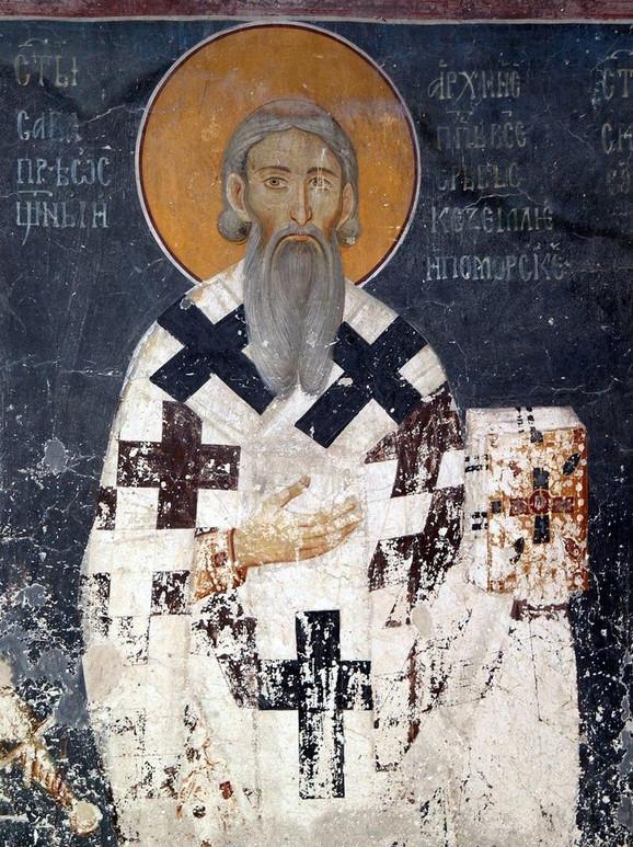 Sveti Sava, Kraljeva crkva