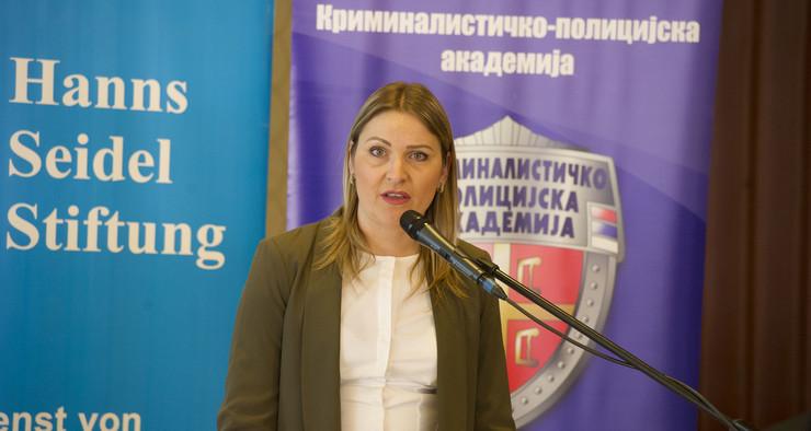 Katarina Tomašević, foto MUP