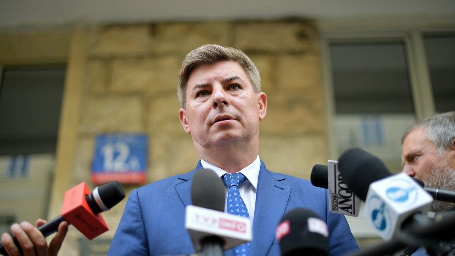 Rzecznik Koalicji Obywatelskiej Jan Grabiec