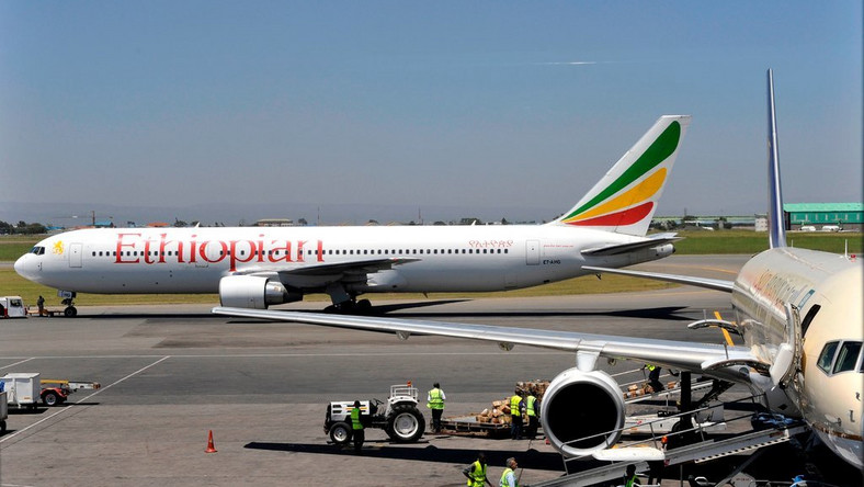 A Boeing 737 aircraft with the Ethiopian Airlines livery. A similar plane, carrying 149 passengers and eight crew members, crashed on Sunday.CreditCreditSimon Maina/Agence France-Presse — Getty Images