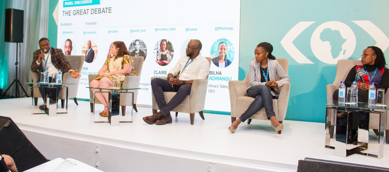 The great debate panel during the fourth MEST Africa Summit, in partnership with Microsoft.