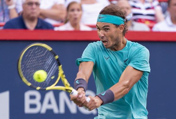 Rafael Nadal trenutno nastupa na Rodžers kupu