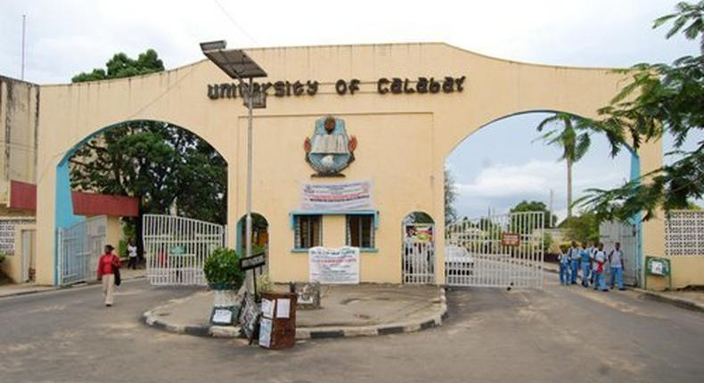 University of Calabar main gate (Punch)