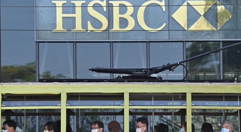 HSBC profits hammered by pandemic and soaring US-China tensions