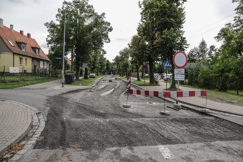 Remont ul. Jeleniogórskiej we Wrocławiu
