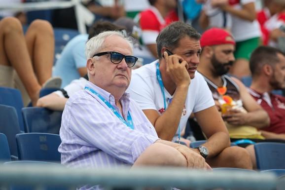 Božidar Maljković, predsednik OKS, uživao je u uspesima naših sportista