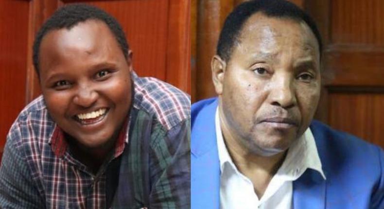 Brian Ndung'u Waititu and his father Ferdinand Waititu