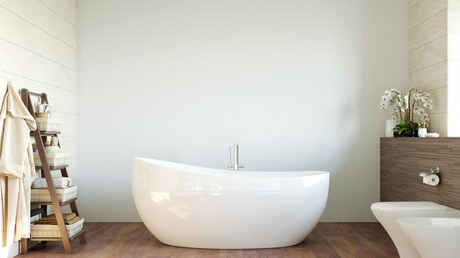W łazience w stylu skandynawskim dominuje kolor biały - Yuri-U/stock.adobe.com