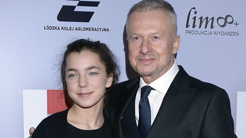 Bronisława Zamachowska, Bogusław Linda