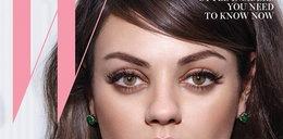 Mila Kunis na okładce w stylu retro