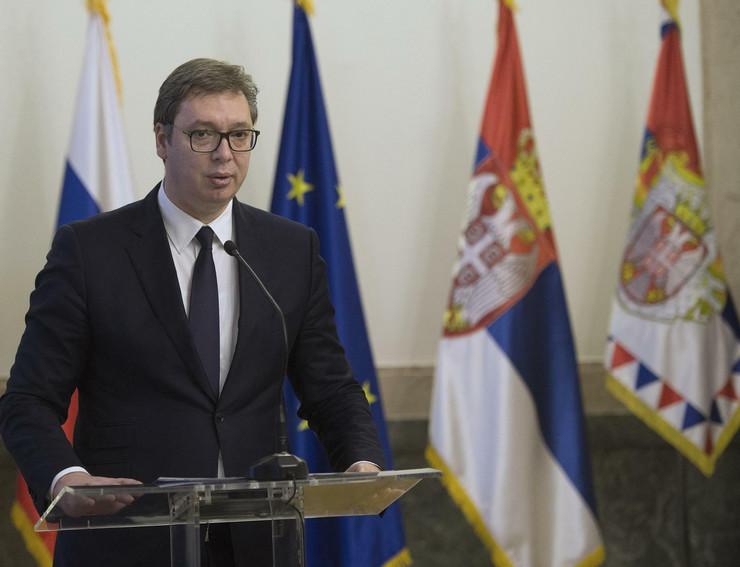 Aleksandar Vučić, Orden srpske zastave drugog stepena, predsednik Upravnog odbora Gasproma Aleksej Miler