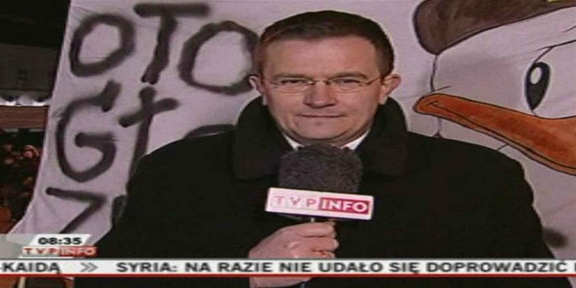 """Zbluzgali dziennikarzy, rzucali """"kur..."""" A przyszli uczcić Smoleńsk"""