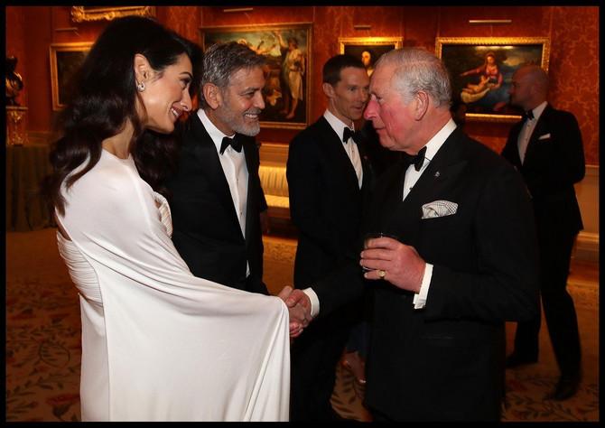 Amal i Džoržd Kluni u poseti kod princa Čarlsa