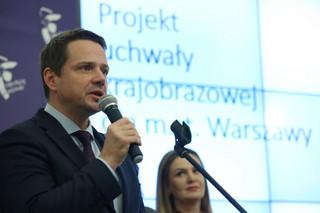 Trzaskowski: Dzięki uchwale krajobrazowej w Warszawie wreszcie zapanuje ład