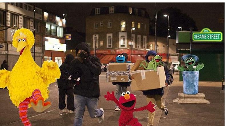 Internauci drwią: Muppety na ulicach Londynu
