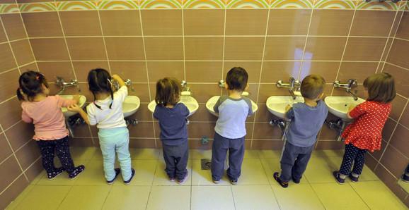 Pranje ruku po vrtićima